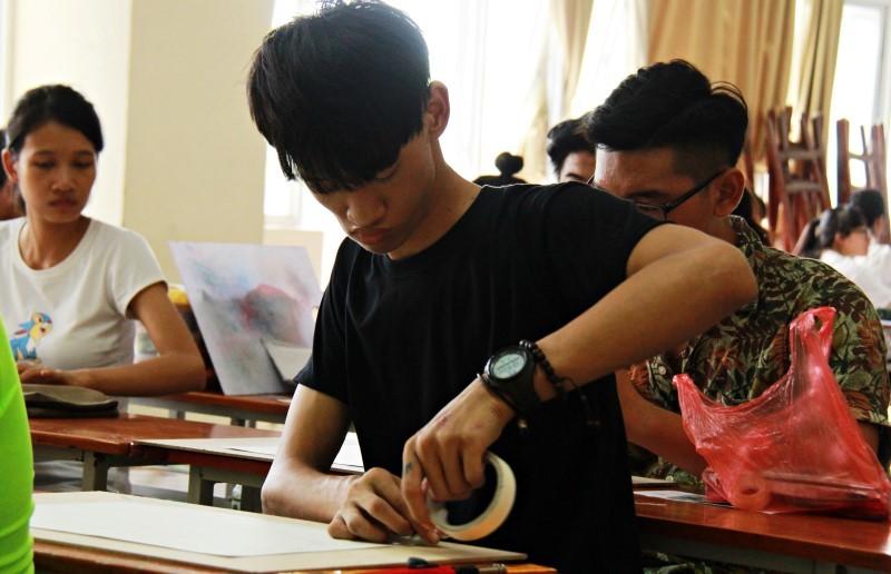 kỳ thi THPT quốc gia 2016, thi môn năng khiếu, ĐH Kiến trúc Hà Nội