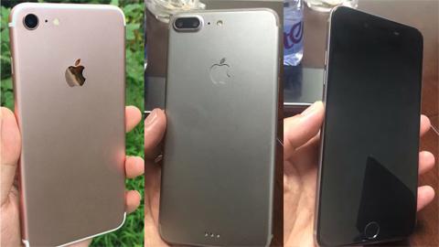 Loạt ảnh iPhone7, iPhone 7 Plus xác nhận camera kép