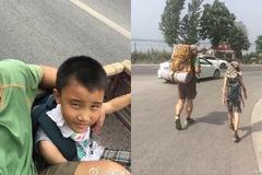 Vượt qua 700km chỉ có 300 nghìn đồng trong túi và bài học vô giá bố dạy con trai 8 tuổi