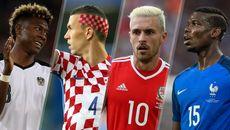 Những kiểu tóc độc nhất vô nhị ở EURO 2016