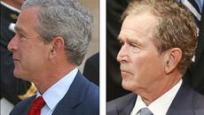 Bush 'con' trông thế nào sau nhiều năm rời Nhà Trắng?