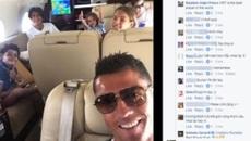 """Hàng loạt fan Việt """"xâm chiếm' facebook của Cristiano Ronaldo"""