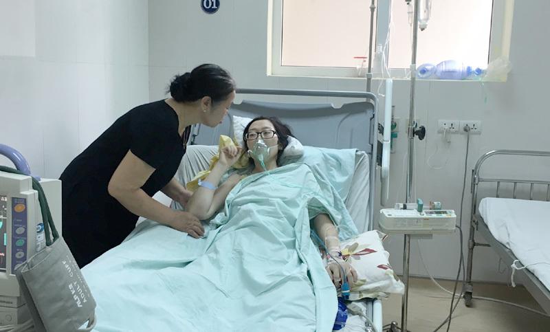 ung thư phổi, di căn, mổ bắt con, Bệnh viện K, ung thư giai đoạn cuối, bệnh nhân ung thư sinh con