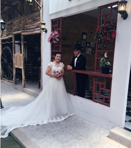 đám cưới, cụ ông 80, Lào Cai, xúc động, ảnh cưới