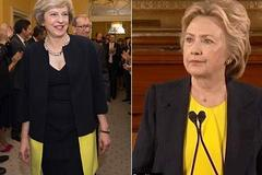 Nữ thủ tướng Anh bất ngờ 'đụng hàng' với Hillary