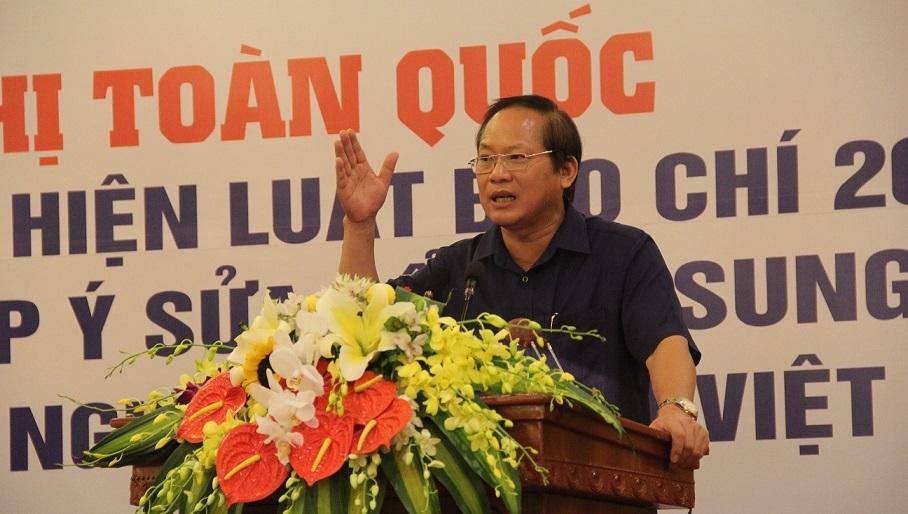 nhà báo, người làm báo, đạo đức báo chí, thẻ nhà báo, Bộ trưởng TT&TT Trương Minh Tuấn