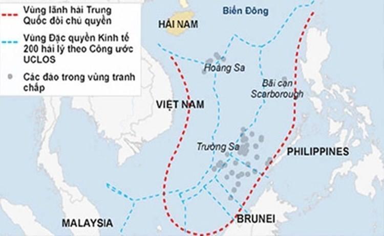 Biển Đông, PCA, Tòa trọng tài quốc tế, Trung Quốc, Philippines, Đường lưỡi bò, đường chín đoạn, Trường Sa, Hoàng Sa