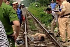 2 thanh niên bị tàu cán khi 'tự sướng' trên đường sắt