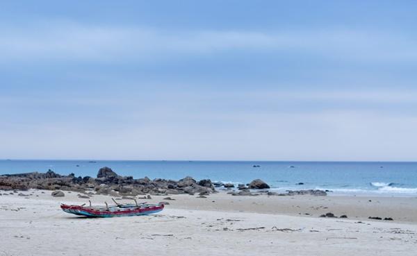 Đảo Cái Chiên, du lịch, bãi biển, bãi tắm, du khách, Quảng Ninh