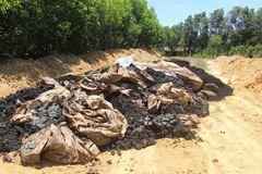 Chất thải Formosa từng đổ ở Thiên Cầm