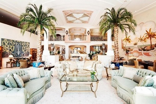 Kinh ngạc hình ảnh bên trong biệt thự của giới siêu giàu