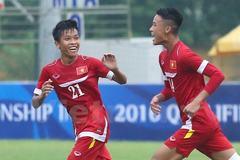 """""""Huỷ diệt"""" Myanmar, U16 Việt Nam rộng cửa vào bán kết"""