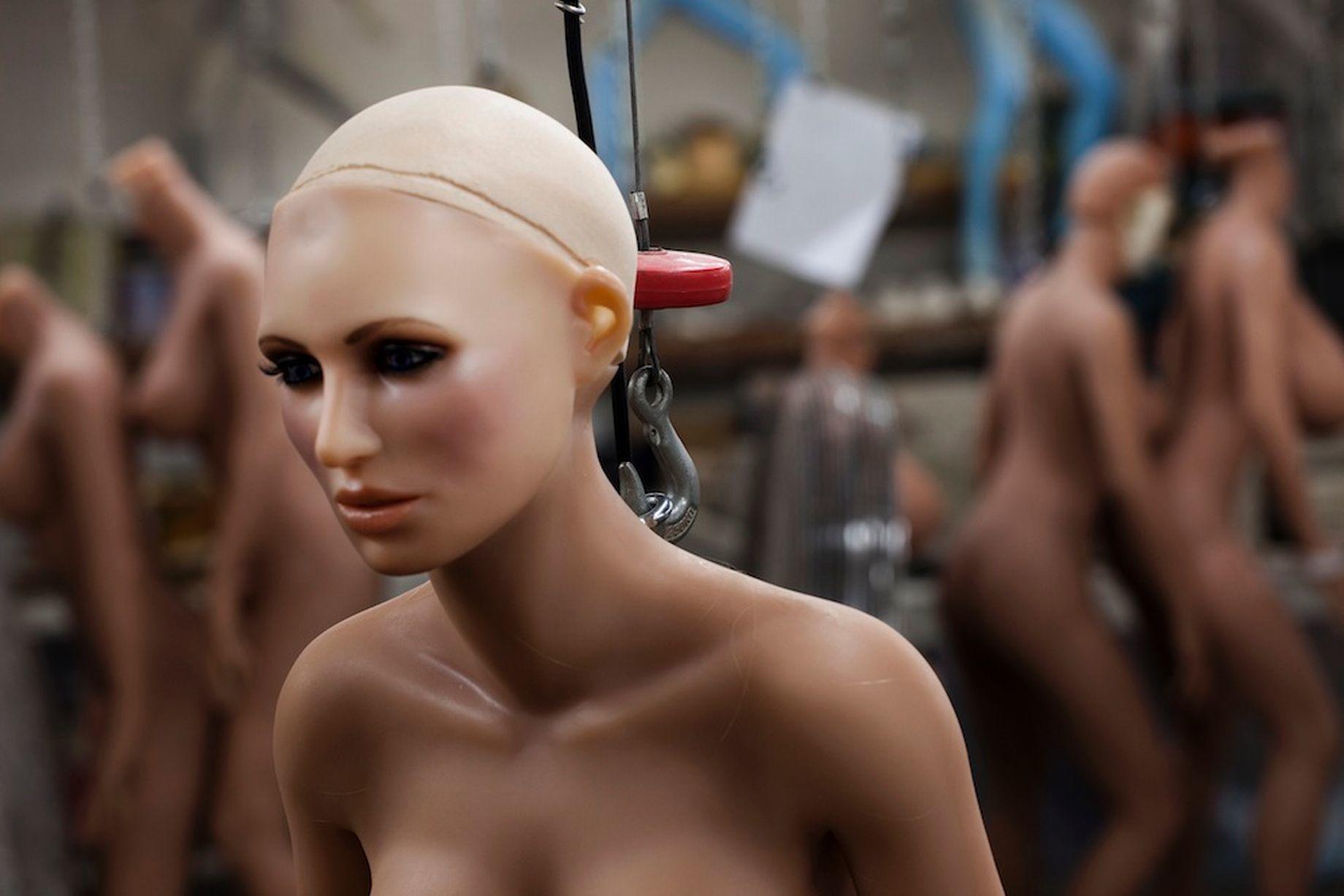 búp bê tình dục, robot, trí tuệ nhân tạo