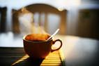 Quán cà phê 'xịn' cũng dùng hàng giả
