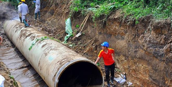 Nguyên Phó Chủ tịch Hà Nội liên quan vỡ ống nước sông Đà