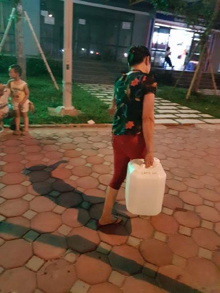 vỡ đường ống nước sông Đà, nước sạch, mất nước