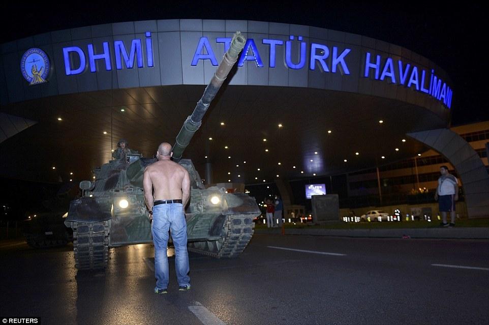 đảo chính, Thổ Nhĩ Kỳ, Tổng thống Erdogan