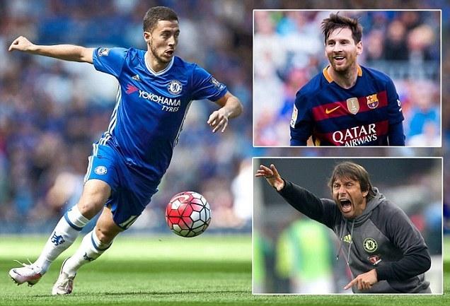 'Hazard sẽ là Messi của Chelsea'