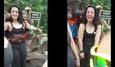 10 clip 'nóng': Bị khỉ sàm sỡ khi đang chụp ảnh tự sướng