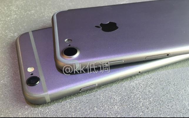 Lộ video, ảnh so sánh iPhone 7 với iPhone 6s