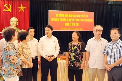 Ông Nguyễn Đức Chung  lý giải việc HN trồng phượng
