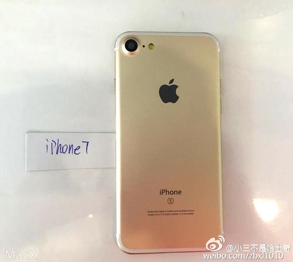 iPhone 7 Pro bất ngờ lộ diện trên trang web Trung Quốc