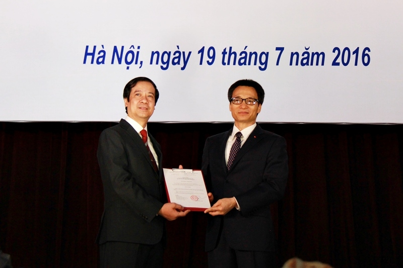 Chính thức bổ nhiệm Giám đốc ĐHQG Hà Nội