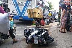 Cô gái Sài Gòn bị xe buýt cán nát 2 tay