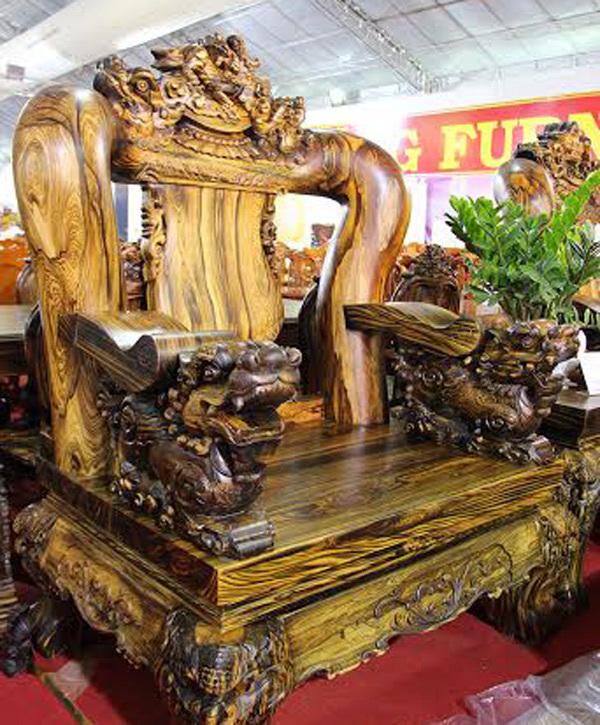 bàn ghế, đại gia, gỗ sưa đỏ, gỗ lim,vnn, vật dụng, chế tác