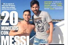 Fan cuồng bơi 1.000m ra biển, lên du thuyền gặp Messi