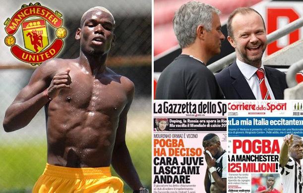 Juventus 'chảnh', 100 triệu bảng không bán Pogba cho MU