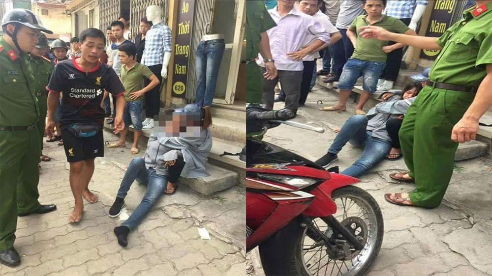 Hà Nội: Cô gái bị bạn trai đánh bất tỉnh giữa đường