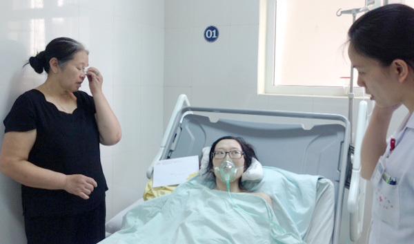ung thư phổi, di căn, bệnh nhân ung thư sinh con, mổ bắt con, ung thư giai đoạn cuối
