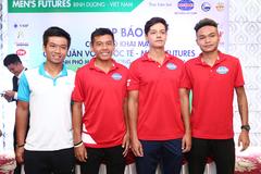 Lý Hoàng Nam đặt mục tiêu vô địch giải Men's Futures