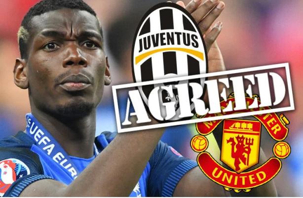 MU đồng ý mua 105 triệu bảng, Pogba thông báo rời Turin