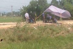Xác người kẹt ở cống, nghi bị đánh chết vứt phi tang