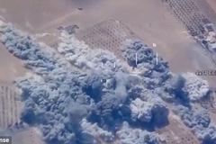 Nghẹt thở phút Mỹ xóa sổ cả loạt mục tiêu IS