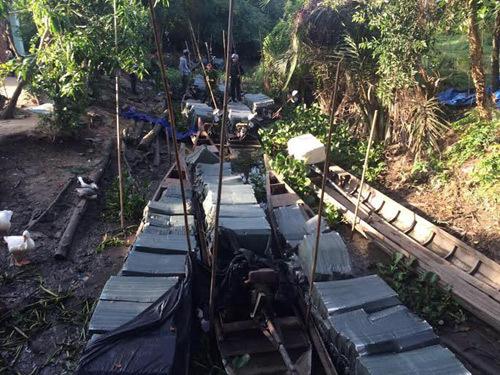 Bắt giữ 90.000 bao Jet và Hero lậu tại Tây Ninh