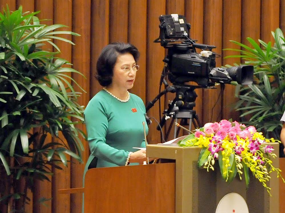 QH khoá 14, BĐBQH, Chủ tịch Quốc hội, Nguyễn Thị Kim Ngân