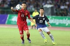 Video bàn thắng U16 Việt Nam 1-0 U16 Campuchia