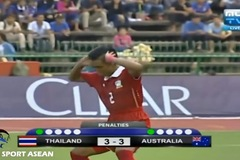 Cầu thủ U16 Thái Lan trả giá đắt vì ăn mừng phản cảm