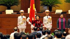 Hình ảnh lễ nhậm chức của nữ Chủ tịch QH