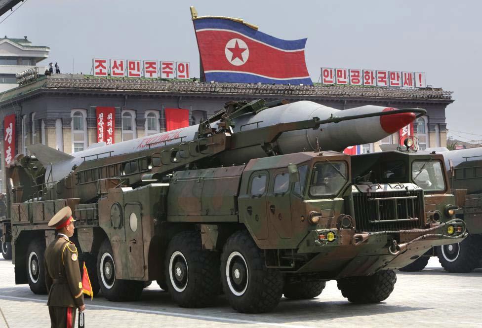 Mục sở thị dàn tên lửa của Triều Tiên