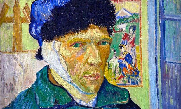 Bí ẩn, cái tai bị xẻo, Van Gogh