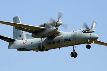 Máy bay quân sự Ấn Độ đột ngột mất tích