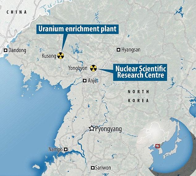 Phát hiện dấu vết cơ sở hạt nhân tối mật của Triều Tiên
