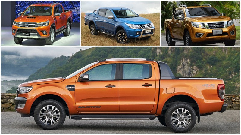 pick up, xe bán tải, xe con, xe tải, ôtô, thị trường xe pick up, xe pick up Thái Lan, thuế tiêu thụ đặc biệt với ô tô