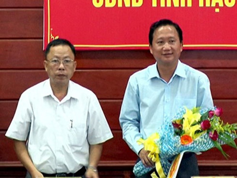 Trịnh Xuân Thanh, phó chủ tịch tỉnh đi Lexus biển xanh, Lexus biển xanh, phó chủ tịch Hậu Giang