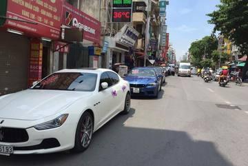 Đám cưới 'khủng' toàn xe sang của chú rể Ninh Bình