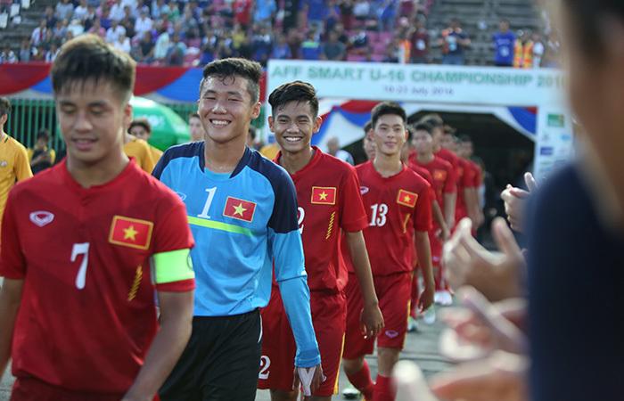 Những khoảnh khắc chiến đấu kiên cường của U16 Việt Nam